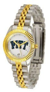 Pittsburgh PITT Panthers NCAA Womens 23Kt Gold Watch SunTime. $143.59