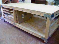 storage and work station idea