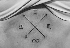 Tatuagens de signos que fogem do óbvio Mais