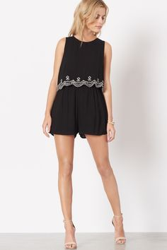 From days spend under the sun to nights out on the dance floor, this romper has you covered.