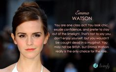 Emma Watson would play me in the Lifetime Original movie of my life. Who would play your role? - Quiz
