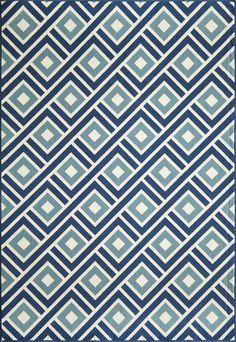 Outdoor rug?  Momeni Baja Blue Indoor/Outdoor Rug & Reviews   Wayfair