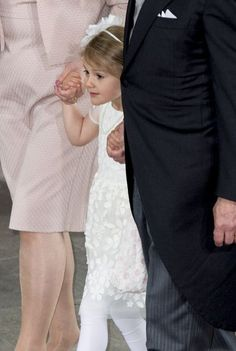 Princess Estelle at Prince Oscar's christening.