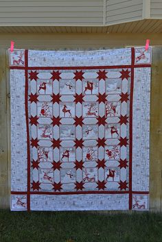 Holiday Frost Quilt Top by Bauer Handcrafted, via Flickr