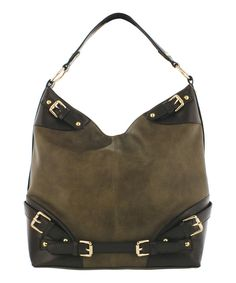 Take a look at this Melie Bianco Taupe Jordan Hobo on zulily today!