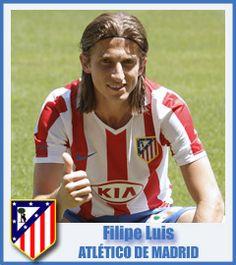Filipe Luis - Club Atlético de Madrid - Defender - Jaraguá, Brazil - 8 January 1986