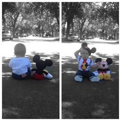 Mickey Mouse first birthday photoshoot