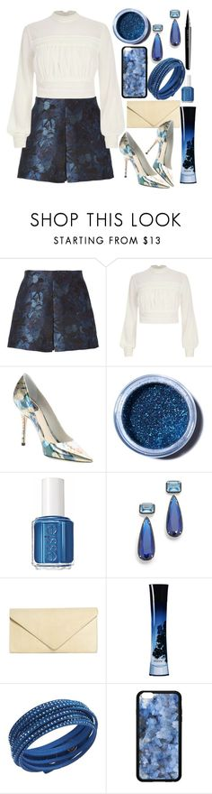 """Dinner in Sorrento "" by teryblueberry ❤ liked on Polyvore featuring Valentino, River Island, Christian Dior, Lime Crime, Essie, Jarin K, Brooks Brothers, Giorgio Armani, Swarovski and Marc Jacobs"