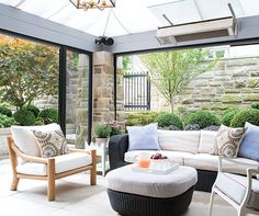 Browse 20 beautiful outdoor rooms from patios to backyards and outdoor living rooms that allow you to enjoy the outdoors with the comforts of home.