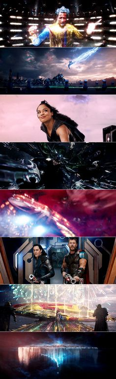 Thor: Ragnarok had some of the most beautiful movie visuals I've ever seen