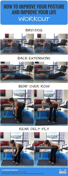 How To Improve Your Posture and Improve Your Life