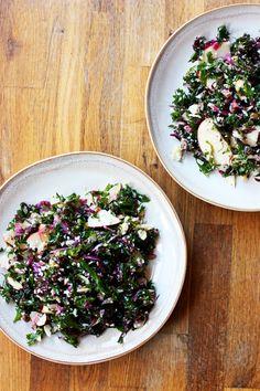 delicious kale salad