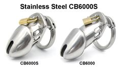 Smallest Size Male Stainless Steel Chastity Device Cock Cage CB6000S Adult BDSM…