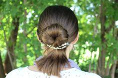 Quick and Easy DIY Hair making a Lilla Rose Bun