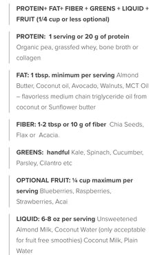 #fab4smoothie details
