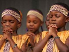 African children praying.<3 - Morning has risen;  God, take away from us every pain,  every ill, every mishap;  God, let us come safely home. - Pygmy Women's Prayer - - The Prayers of African Religion. - - London. S.P.C.K., Maryknoll. Orbis, 1975.