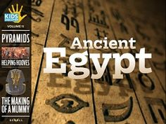 Kids Discover: Ancient Egypt (Joe Zeff Design) app review by Katie Bircher at The Horn Book, May 23rd, 2014