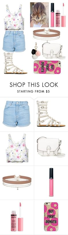 """""""Untitled #118"""" by cristhina-a-dieguez-c on Polyvore featuring moda, Topshop, MICHAEL Michael Kors, Miss Selfridge, Armani Beauty, Charlotte Russe, Agent 18, GUESS, fashionset y polyvorefashion"""