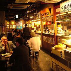 博多屋台市場 蒲田店の雰囲気1 Cooking Restaurant, Cafe Restaurant, Restaurant Recipes, Japanese Restaurant Interior, Japanese Shop, Coffee Restaurants, Noodle Bar, Kiosk Design, Japan Design