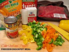 Pepper Cube Steak is so easy and perfect for a busy night!! A great slow cooker meal or turn it into a freezer meal.