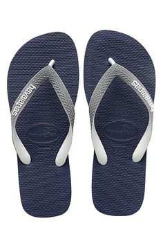 53c62607677 Navy  amp  Gray Top Mix Flip-Flop - Kids Stay Fresh