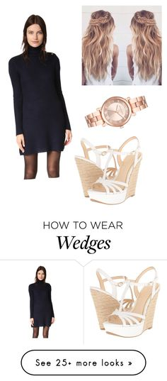 """Untitled #1958"" by vireheart on Polyvore featuring Tory Burch, Jessica Simpson and Michael Kors"