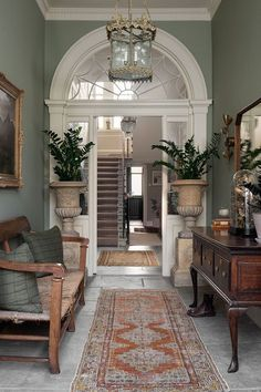 Dream Home Design, My Dream Home, Halls, Estilo Country, Home Fashion, Style Fashion, House Rooms, Traditional House, Home And Living
