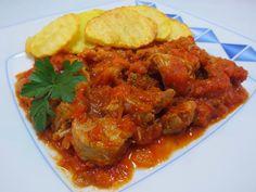 Solomillo o magro con tomate Ana Sevilla