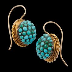 54831ed06e548 SHOP - RELIQUARY Curated Shop. Vintage TurquoiseCoral TurquoiseTurquoise  EarringsGold ...