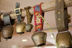 Alpine inspiration - I would like to have a view real cowbells for decoration.
