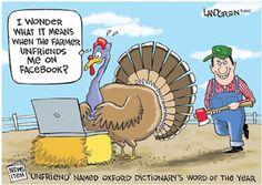 When The Farmer Unfriends Me Turkey