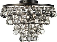 Bling Flushmount Light - contemporary - ceiling lighting - by Masins Furniture