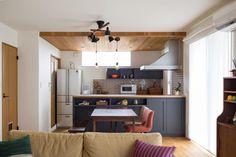 Natural Interior, Loft, Kitchen, Furniture, Home Decor, Kitchens, Lofts, Cuisine, Interior Design