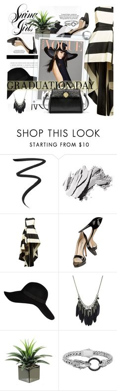 """""""Livey amazing!!!"""" by marleen1978 ❤ liked on Polyvore featuring Eyeko, Bobbi Brown Cosmetics, La Mania, Brian Atwood, River Island, Nicole, Phillip Gavriel, cute, chic and Spring2017"""