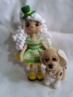 PDF Собачка Бусинка. Бесплатный мастер-класс, схема и описание для вязания игрушки амигуруми крючком. Вяжем игрушки своими руками! FREE amigurumi pattern. #амигуруми #amigurumi #схема #описание #мк #pattern #вязание #crochet #knitting #toy #handmade #поделки #pdf #рукоделие #собака #собачка #щенок #пёс #пёсик #dog #doggie #doggy #puppy Crochet Dolls, Crochet Hats, Bears, Pokemon, Sewing, Inspiration, Amigurumi, Jelly Beans, Miniatures