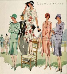 What to wear to the races in 1928 McCall's Magazine