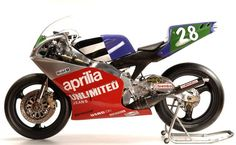One of the all time great 250 GP bikes, the Aprilia AF1 250.