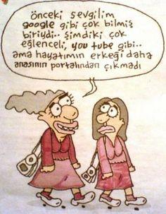 Hayatımın erkeği :)) | karikatür