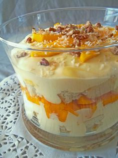 Quick and Easy Dinner Recipes with Healthy Snacks Recipes: Mango-Trifle Delight | healthy snack recipes