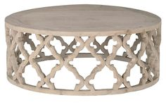 Grande Table Basse En Quatre Feuilles Sculptée Our Carved Quatrefoil Large Coffee Table is constructed from beautiful reclaimed elm with a subtle grey finish. Creates an organic vibe for any space. Basement Furniture, Furniture Decor, Living Room Furniture, Furniture Removal, White Furniture, Furniture Design, Coastal Living Rooms, New Living Room, Living Room Decor