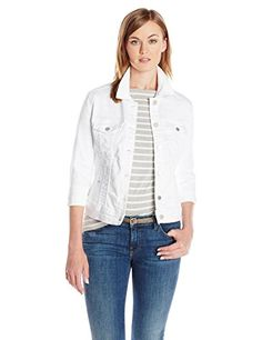 Liverpool Jeans Company Women's Powerflex Stretch Denim Jacket >>> Learn more by visiting the image link.
