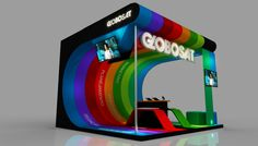 Stands / Exhibition / Booths by Natan Amaral Gomes at Coroflot.com
