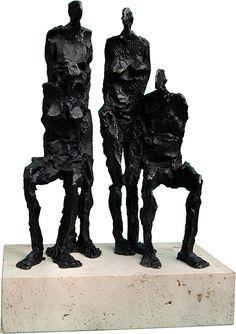 #escultura Grup Persones #sculpture Group of people #bronze #bronce