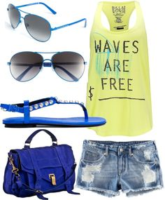 and she dreamed of the beach..., created by madatmadi on Polyvore