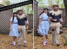 Wizard of Oz couples costume