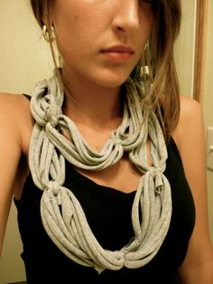 t shirt scarves | amelia.mary: I Made Another T-Shirt Scarf