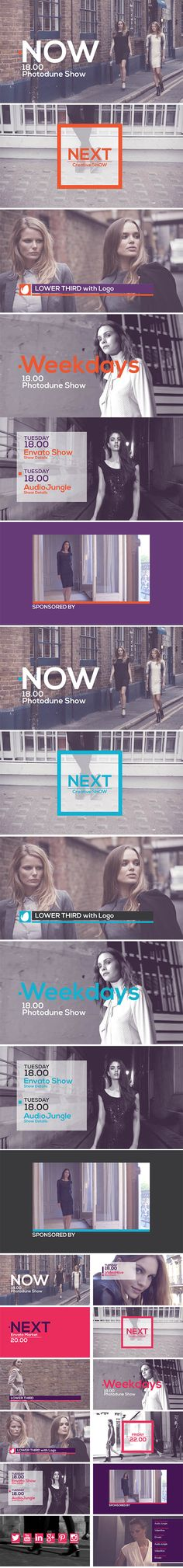 Flat Broadcast Pack - After Effects Project Files | VideoHive