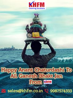 """"""" #GanapatiBappaMoraya #PudhachyaVarshiLavkar Yaa!!!!! """" Wishing you and your family a Happy Anant Chaturdashi 2017 May #Ganapati #Bappa Give You Clean & Healthy Life Ahead With Your Family & Friends   We Are Well Known Person For #HomeCleaningServicesMumbai For Our Company #KHFMCleaningSolution  Call us on 9987574333  Or Visit us on http://www.khfm.co.in/  #HomeCleaningServicesMumbai #MumbaiHomeCleaningServices #OfficeCleaningServicesMumbai #MarolAndheriHomeCleaningServices…"""