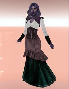 includes sizing for classic and mesh bodies. Moon Design, Dress Set, Bodies, Ballet Skirt, Mesh, Steel, Purple, Classic, Skirts