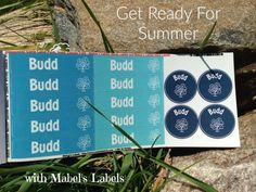 Get Ready For Summer With Mabel's Labels Is it really almost summer time?!! School is winding down and we're looking forward to all that summer brings! Nor